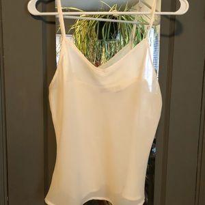Sheer adjustable strap camisole